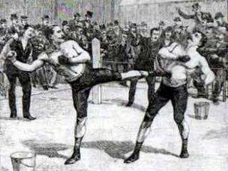 Чемпионат по французскому боксу в Мурманске.